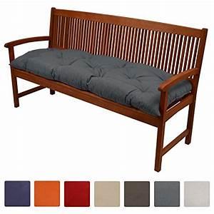 Coussin Pour Banc Exterieur : beautissu coussin pour banc de jardin flair bk terrasse ~ Premium-room.com Idées de Décoration