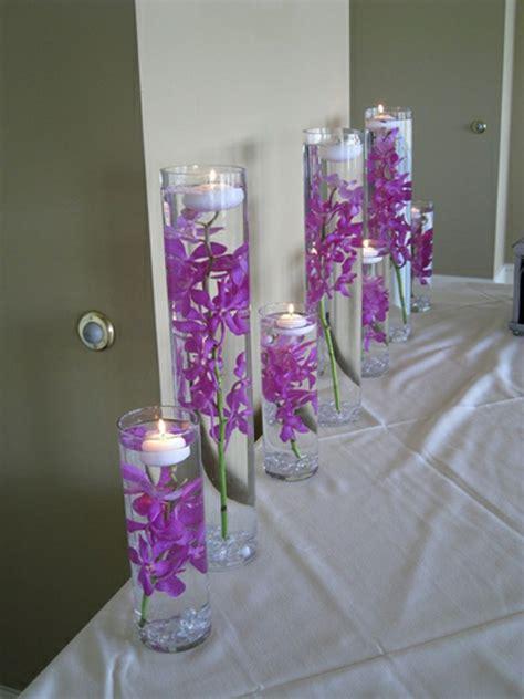 Blumen Hochzeit Dekorationsideenblumen Hochzeit Deko In Lila by Tischdeko Zur Hochzeit In Lila Farbe 34 Bilder