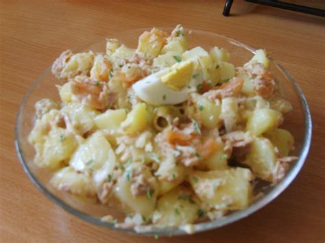 salade pomme de terre saumon les delices de oumsafiya
