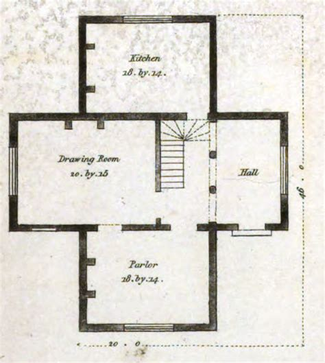 house planner 19th century historical tidbits 1835 house plans part 2
