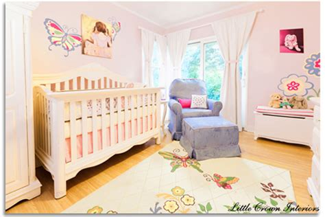 Girl's Butterfly Themed Nursery Design Reveal
