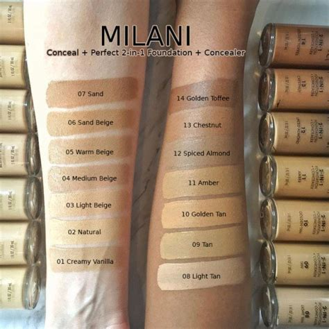 jual milani conceal perfect foundation concealer