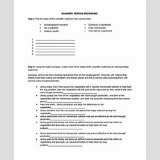 9+ Scientific Method Worksheets  Sample Templates