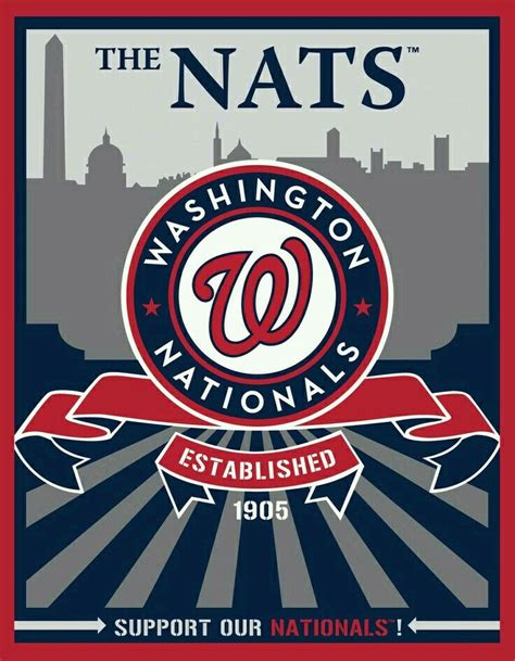 washington nationals baseball dc sports banner target america logos league national players mlb team teams american speakman pitching personality pastime
