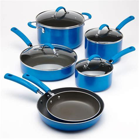 cookware network food safe oven nonstick kohls enamel pc metallic kohl pans pots piece qt