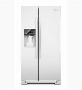 Whirlpool Refrigerator Brand  Wsf26c2exw Side By Side