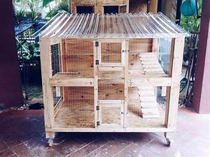 Pallet Pet House / Wooden Bird Cages