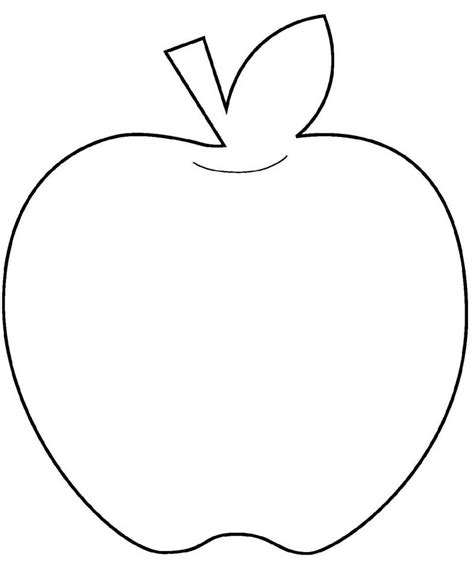 apple shape clipart clipground