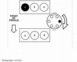 Can Someone Help Me With The Firing Order On A Ford Taurus