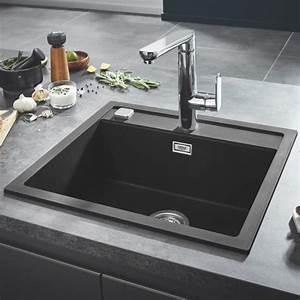 Einbauspüle Granit Günstig : grohe k700 einbausp le granit schwarz 31651ap0 reuter ~ A.2002-acura-tl-radio.info Haus und Dekorationen