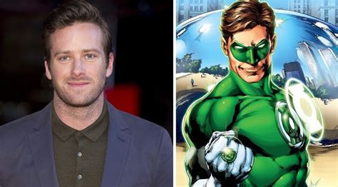 Armie Hammer distances himself from Green Lantern casting ...