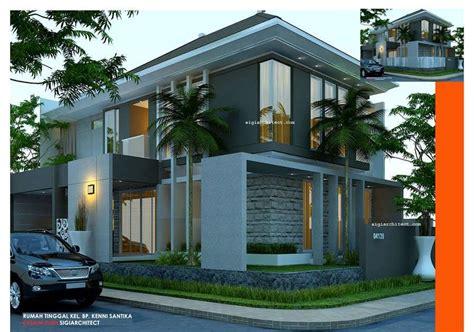desain rumah  lantai ukuran  hontoh