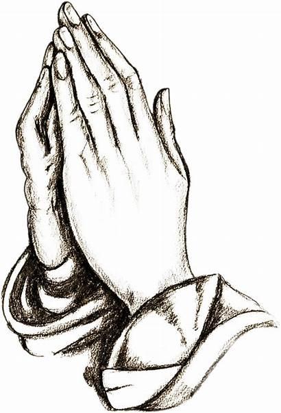 Praying Clipart Hands Prayer Pray Outline Preghiera
