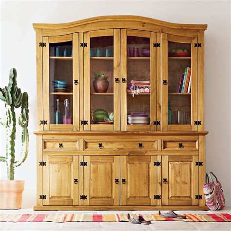 meuble cuisine en pin pas cher buffet la maison de valerie buffet 4 portes vaisselier 4