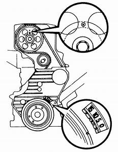 Can I Get The Alien Diagram For A Timing Belt On A 1991 Toyota Camry