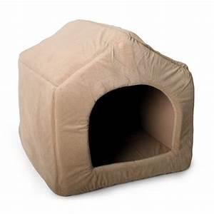 Niche Interieur Pour Chien : niche 2 en 1 maison niche pour petit chien wanimo ~ Melissatoandfro.com Idées de Décoration