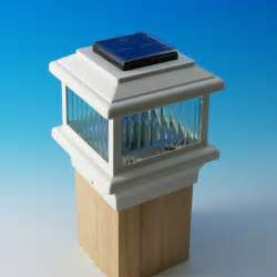 Solar Lights For Deck Posts by Garden Deck Solar Lighting Ideas Advice For Your Home