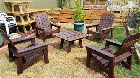 diy wood pallet outdoor furniture ideas easy pallet ideas
