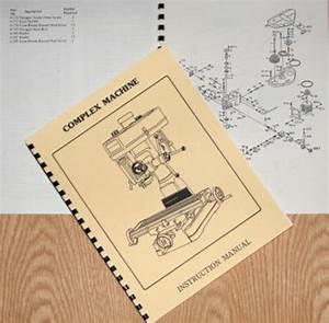 Asian Complex  Enco  Msc  15 U0026quot  Drill Mill Instructions