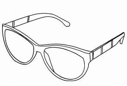 Sunglasses Coloring Printable Pages Hut Trendy Adults