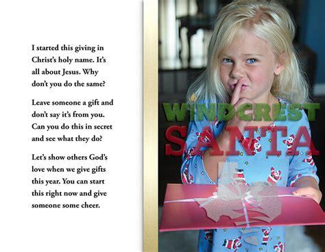 windcrest santa s book is now available windcrest santa jim