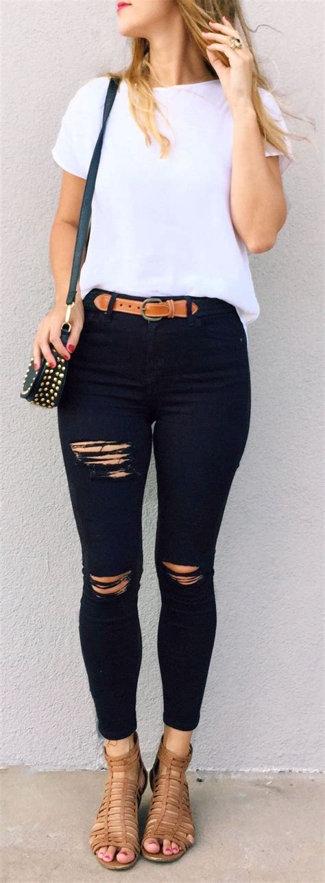 Cute Skinny Jeans Outfits - Oasis amor Fashion