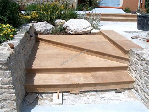 escalier exterieur en naturelle escalier en pierres naturelles comment raliser soi mme