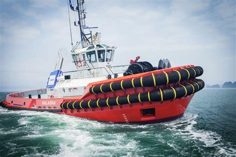 Tugboat Hours by Damen Shipyards Showcases Innovative New Tugboat Asd Tug