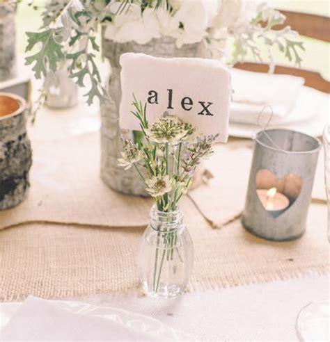 glass bud vase  card holders set    wedding