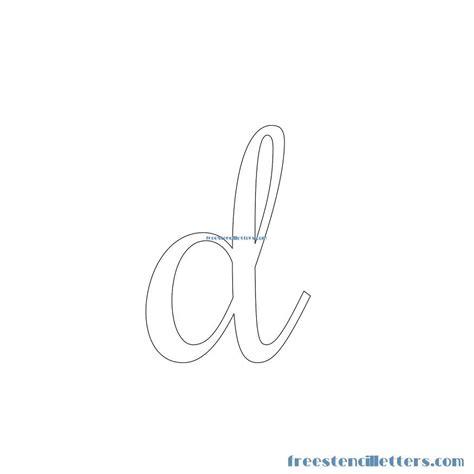 printable lowercase letter stencils cursive stencils and numbers to print free stencil letters