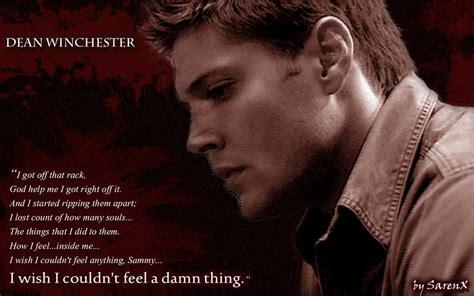 Dean Quotes Dean Winchester Quotes Quotesgram