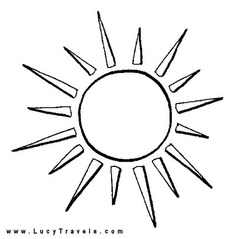 sun  coloring pages  art coloring pages