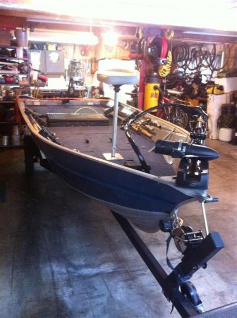 Aluminum Fishing Boat Remodel by V Hull Conversion Boat Inspiration Pinterest Boating