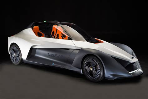 nissan small sports car nissan bladeglider electric sports car pointy but