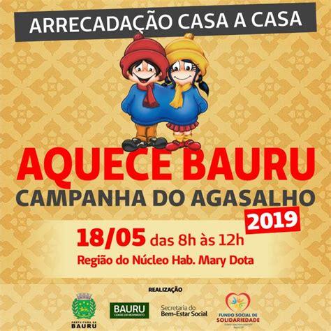 Campanha do Agasalho 2019 realiza coleta casa a casa neste ...