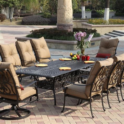 Metal Outdoor Patio Furniture by 25 Photo Of Metal Patio Furniture Sets