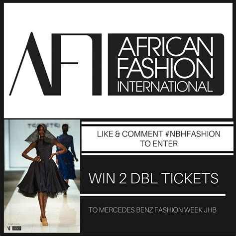 Win Tickets To Mercedes-benz Fashion Week Joburg