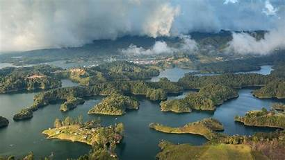 Colombia Islands Thousand Land Nature Landscapes Landscape