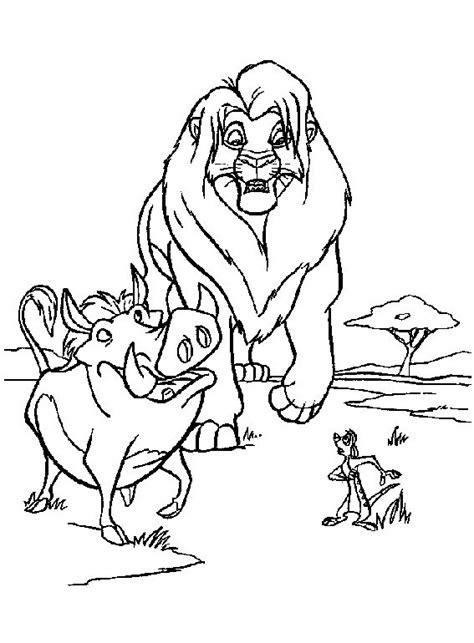 leone da colorare disegni gratis