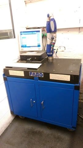 ordinate measuring faro gage p measuring arm