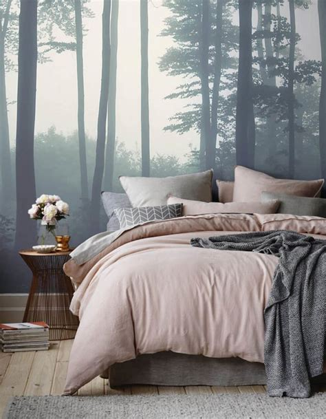 papier peint original chambre tête de lit 25 idées pour une tête de lit originale