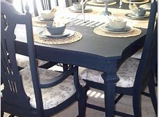 Loving Life Dining Room Table and Chairs Completed ~ Finally!