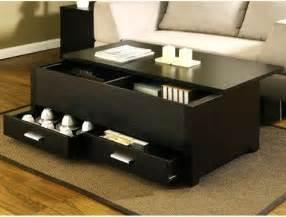living room table sets with storage garretson storage box coffee table espresso finish