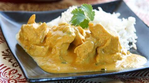 cuisine poulet au curry recette légère émincés de poulet fondant au curry