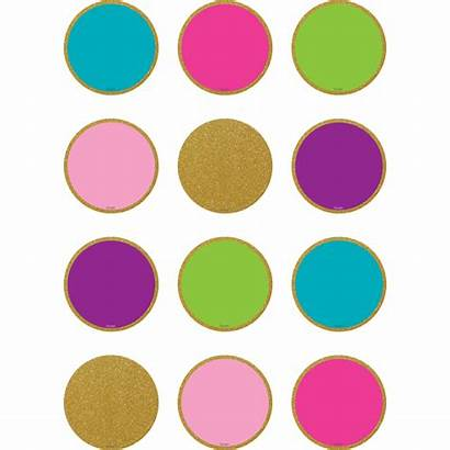 Confetti Circles Colorful Clipart Mini Turquoise Accents