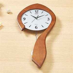 Horloge Murale Silencieuse : horloge murale silencieuse en bois simple moderne cr atif ~ Melissatoandfro.com Idées de Décoration