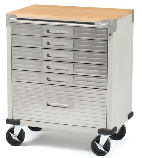 Stainless Steel Rolling Cabinet by New Stainless Steel 6 Drawer Rolling Tool Chest Box