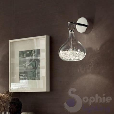 applique design moderno applique design moderno vetro soffiato cristallo