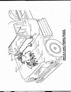 Ford Truck 1964 F 100 Series Overdrive Schematic  61847