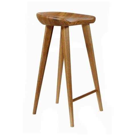 Wood Counter Stools - new carved wood barstool 29 quot contemporary bar counter